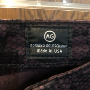 Ag Adriano Goldschmied Jeans - Patterned Jeans